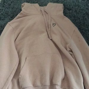 Pink Hoodie With Heart